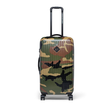 Herschel Trade Medium Woodland Camo/Vermillion Orange