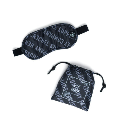Herschel Eye Mask Roll Call Black/Sharkskin Small