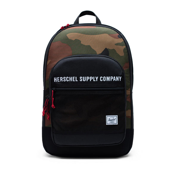 Mochila Herschel Kaine Black/Woodland Camo - Herschel Supply Athletics