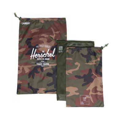 Herschel Laundry/Shoe Set Woodland Camo