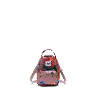 Herschel Nova Crossbody Summer Floral Ash Rose
