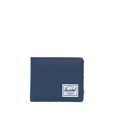 Carteira Herschel Roy Coin RFID Navy/Red