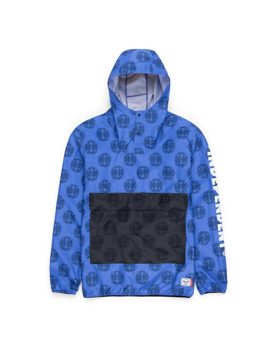 Anorak Herschel Homem Windbreaker Hip Pack Multi Cross Amparo Blue - Independent