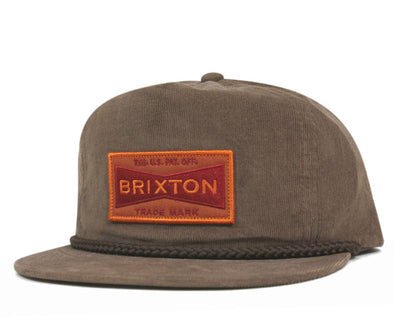 Brixton Fuel Snapback - Brown