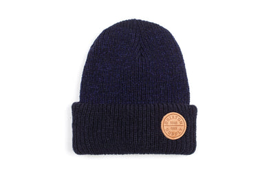 Brixton Oath Beanie Navy/Brown