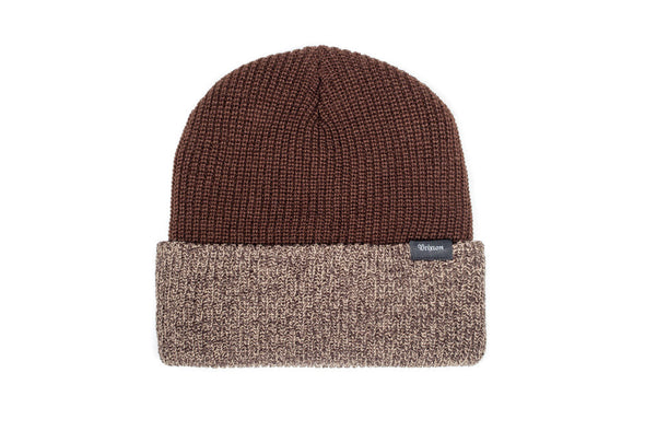 Brixton Barrett Beanie - Brown/Tan