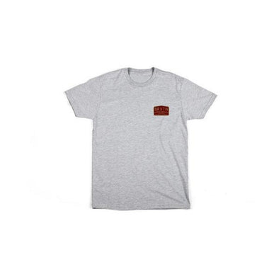 Brixton Harris S/S T-Shirt Heather Grey