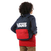Mochila Vans New Skool Backpack Dress Blues-Chili Pepper - Kids
