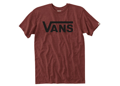 T-Shirt Vans MN Classic Snow Rhubarb Heather Black