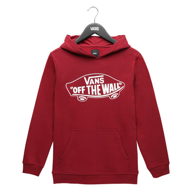 Vans By OTW Pullover Fleece Boys Rhumba Red/White