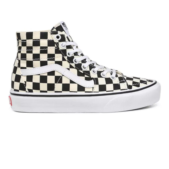 Vans Sk8-Hi Tapered (Checkerboard) Black/True White