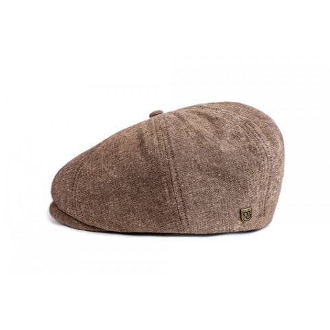 Brixton Brood Snap Cap - Light Brown