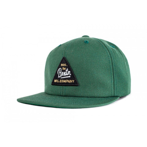 Brixton Cue Snapback - Chive