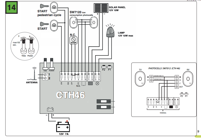 CTH46 wiring diagram