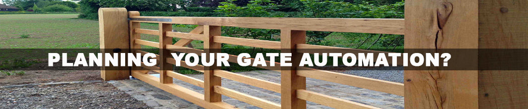 PLANNING YOUR GATE AUTOMATION?