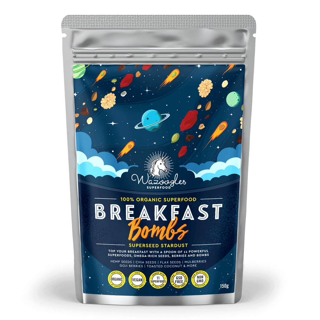 Wazoogles Breakfast Bombs - Superseed Stardust