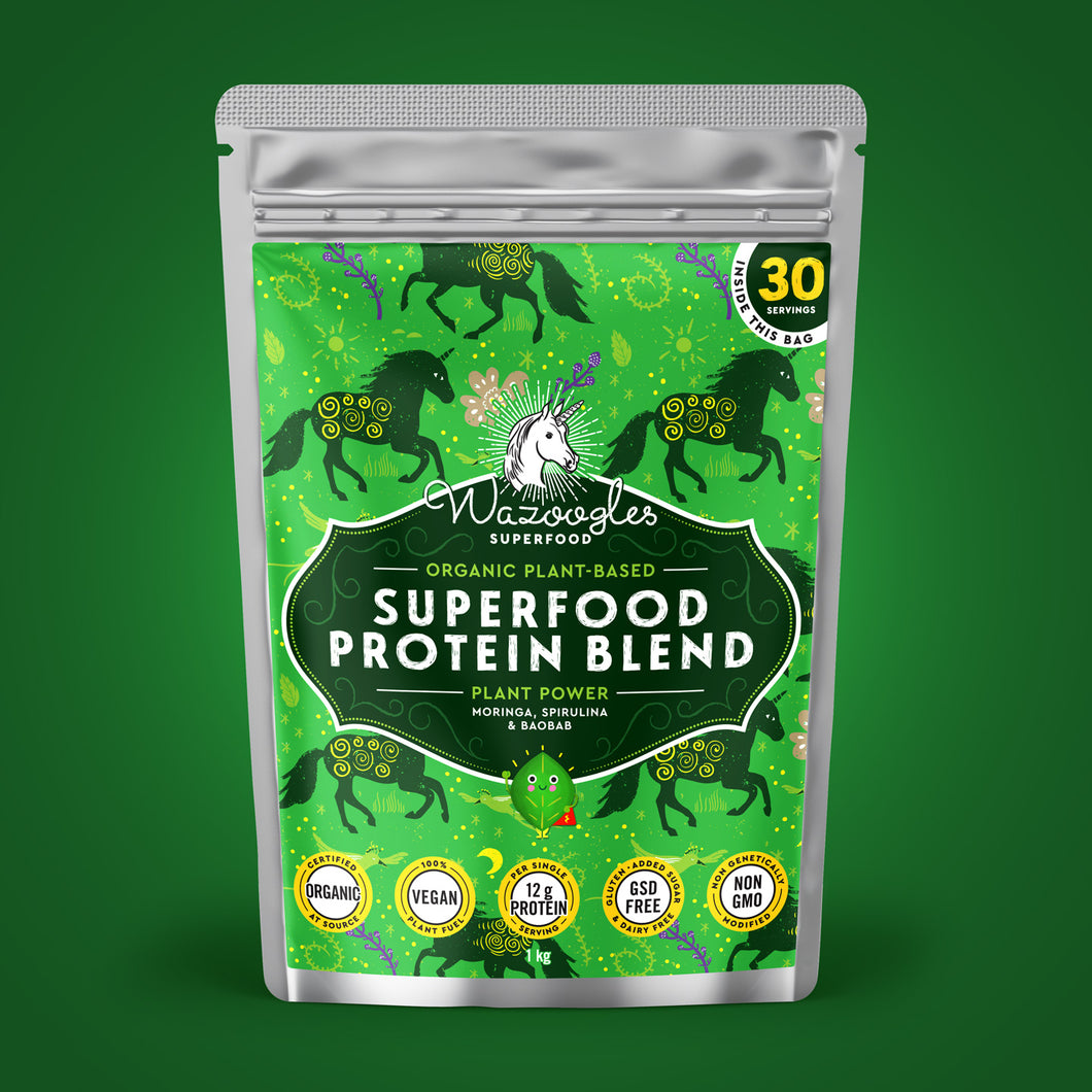 Wazoogles Superfood Protein Blend - Plant Power