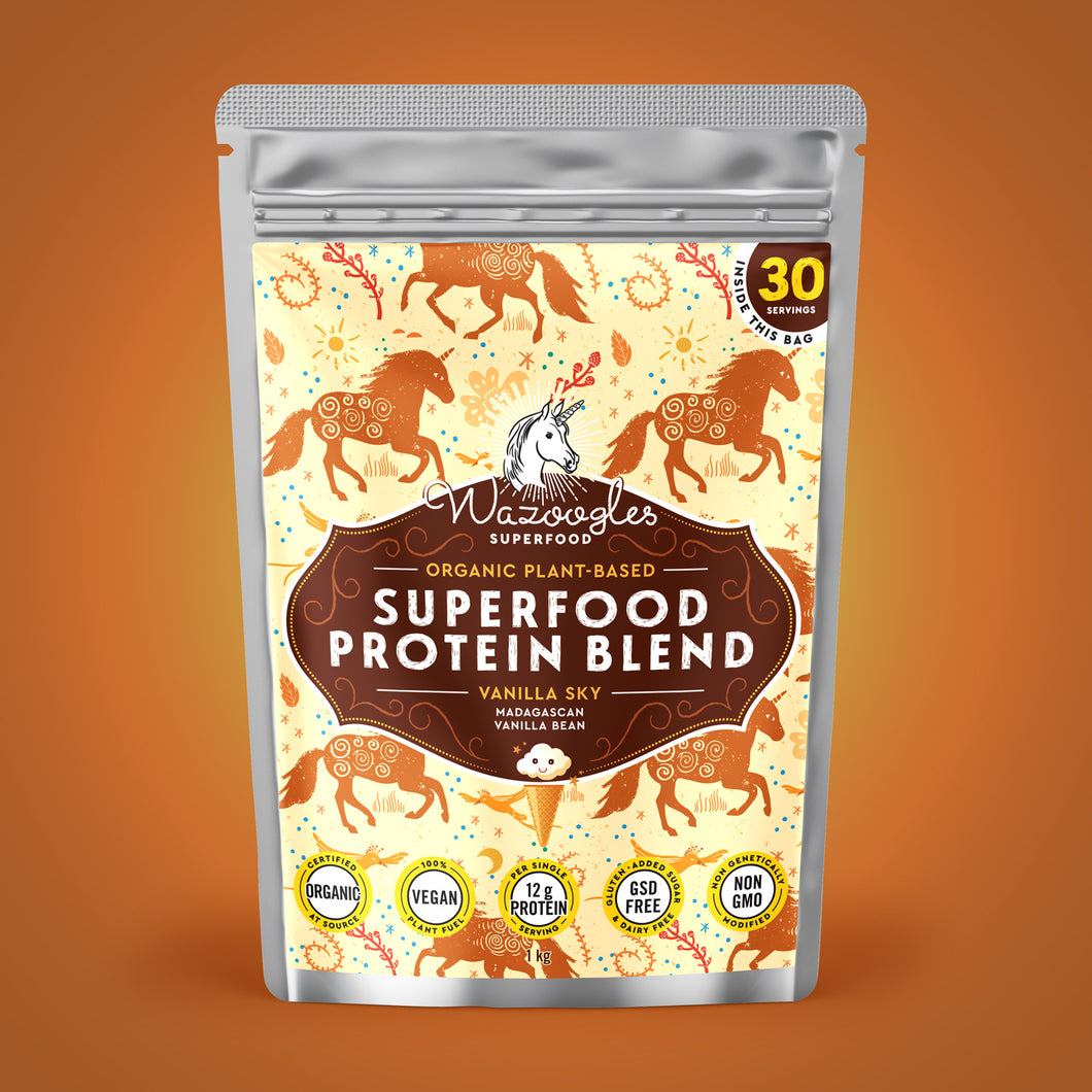 Wazoogles Superfood Protein Blend - Vanilla Sky