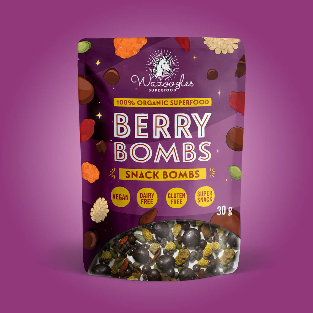 Wazoogles Snack Bombs - Berry Bombs