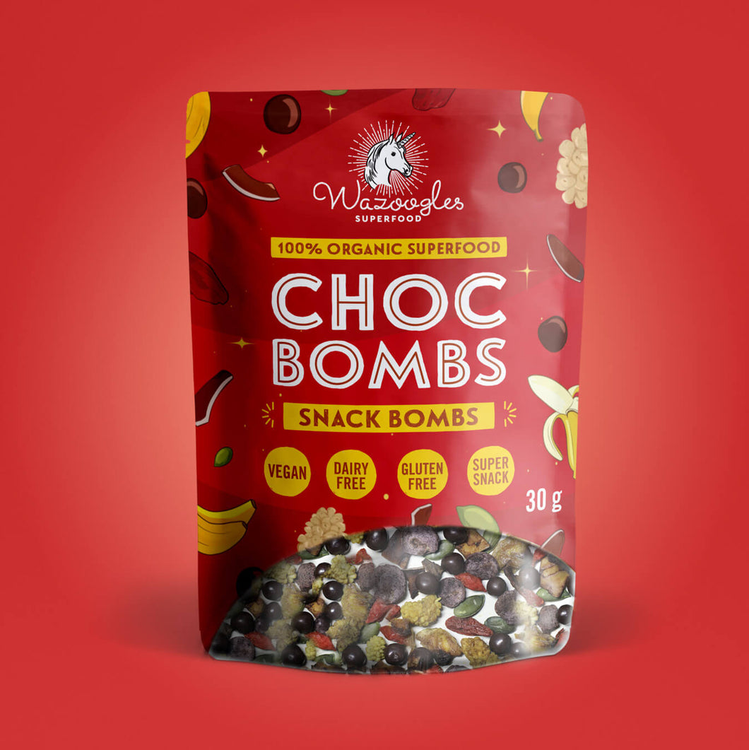Wazoogles Snack Bombs - Chocolate Bombs