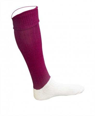 Football Socks - Maroon