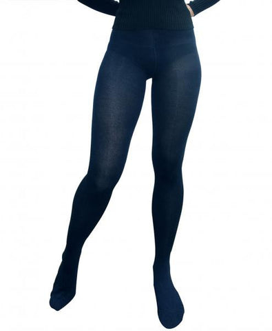 Tights Cotton / Poly - Navy