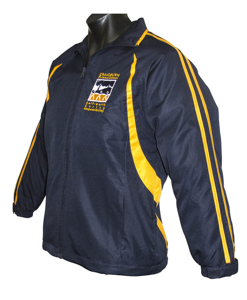Shower Jacket Navy/Gold