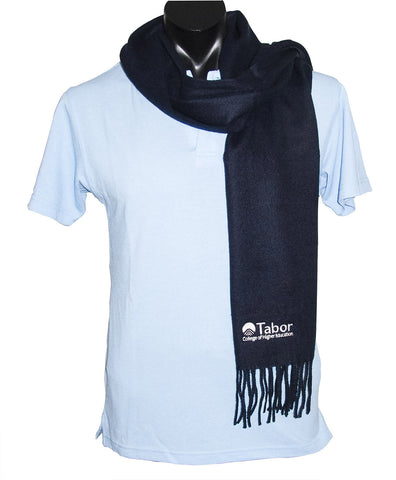 Scarf - Navy with White logo