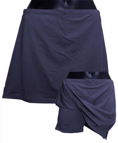 Sport Skirt with short - Navy