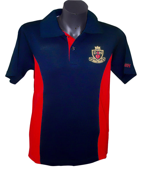 Short sleeve sports polo