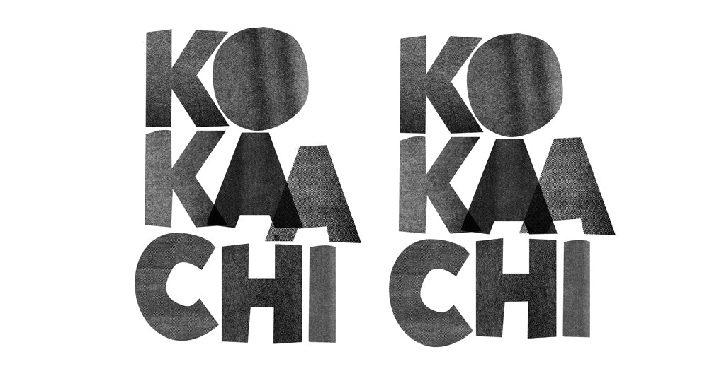 Kokaachi logo design explorations by Prabha Mallya