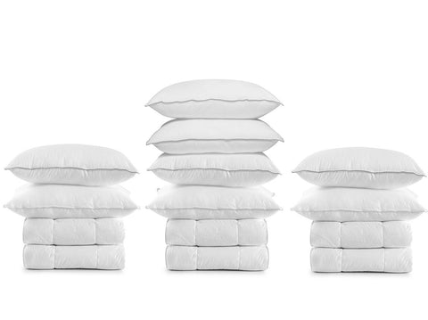 8 Berth 13.5 tog Luxury Microfibre Bed Pack