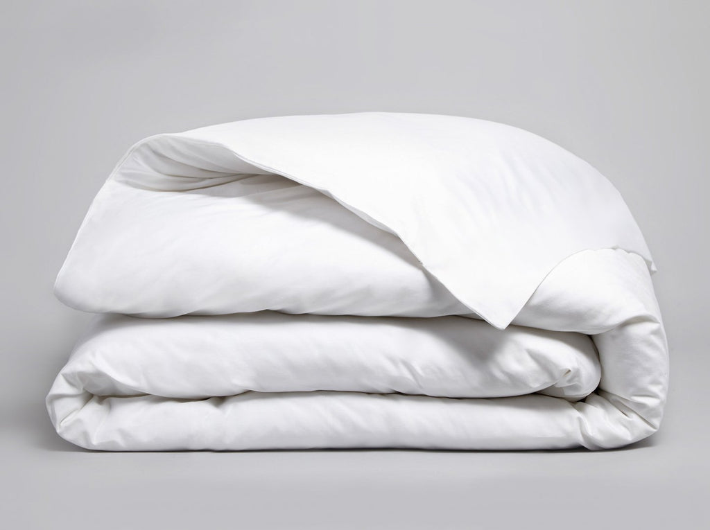 Percale 200 TC Duvet Cover White