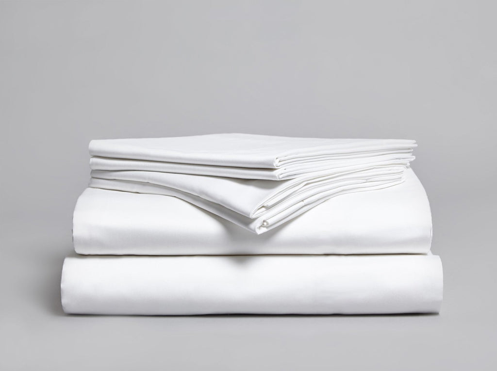 Belissa 300 TC Flat Sheet White