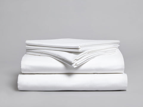 Belissa 420 TC Flat Sheet White