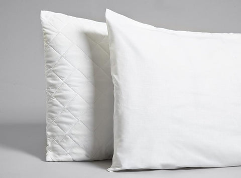 Cotton Zipped Pillow Protector