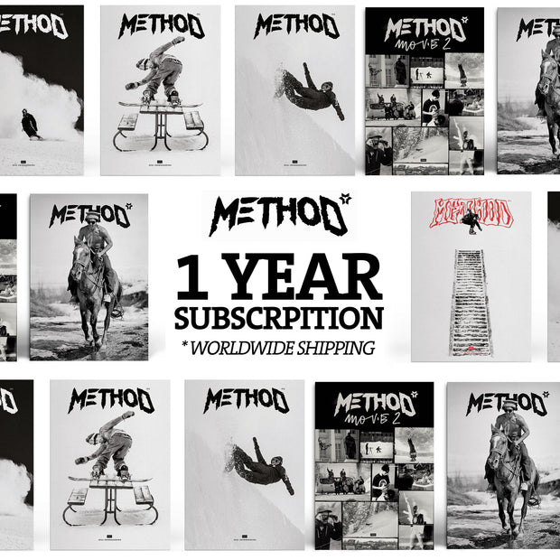 Subscription Method Magazine with T-Shirt