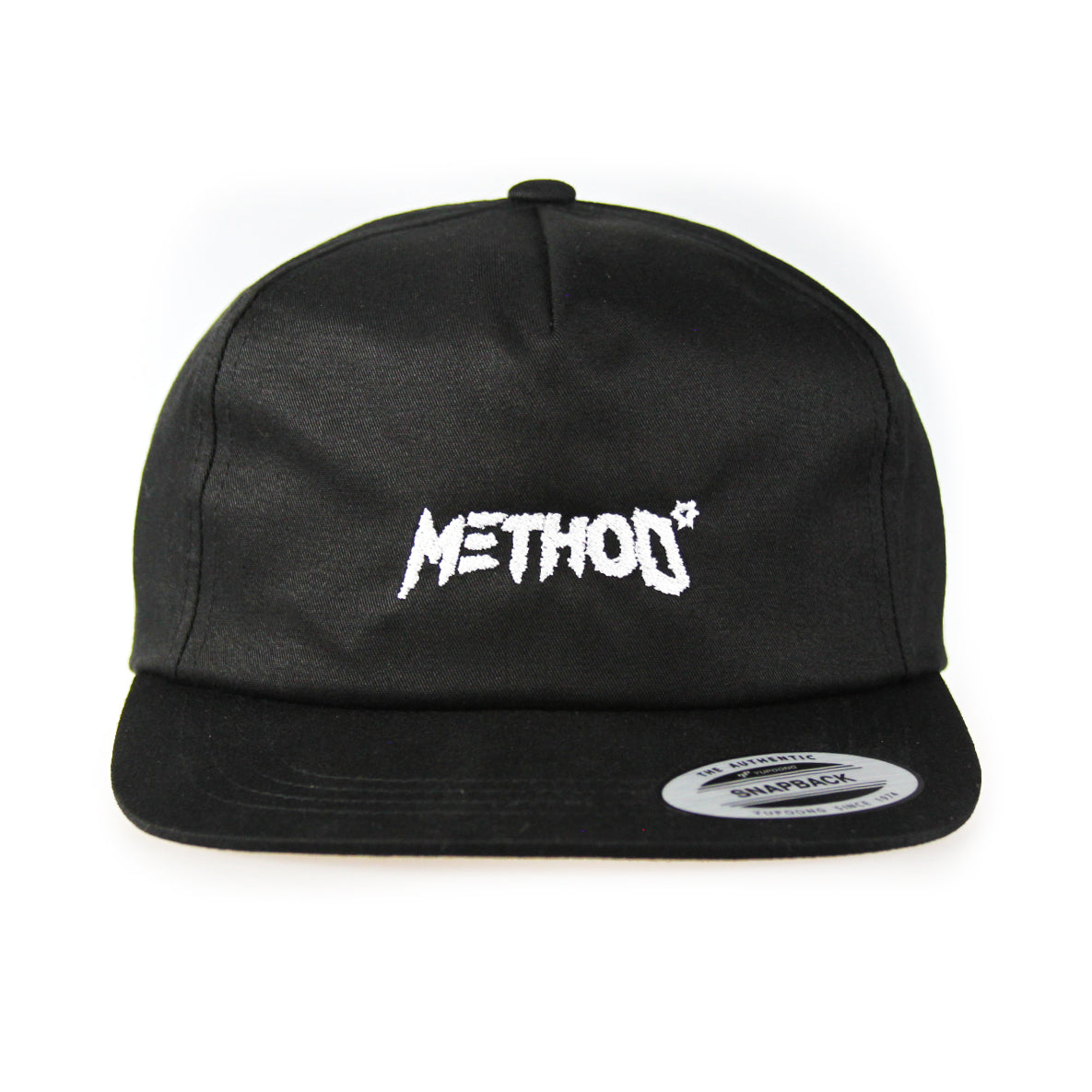 Method Unstructured 5 Panel Snapback Cap