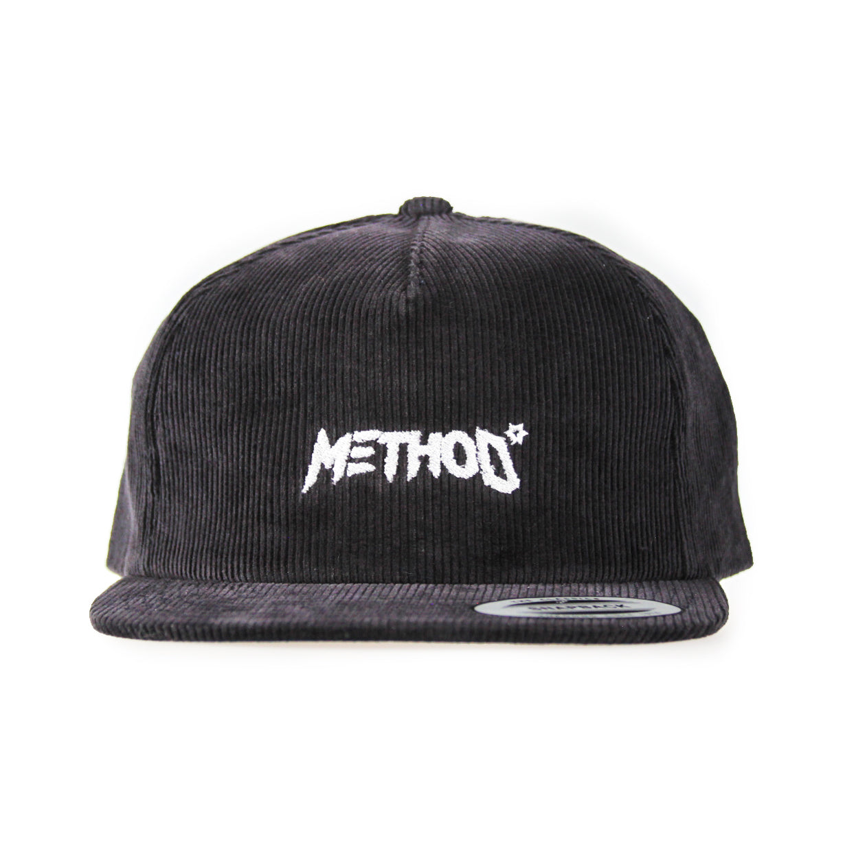 Method Corduroy 5 Panel Snapback Cap