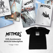 Method Magazine Season 20 - subscription with t-shirt