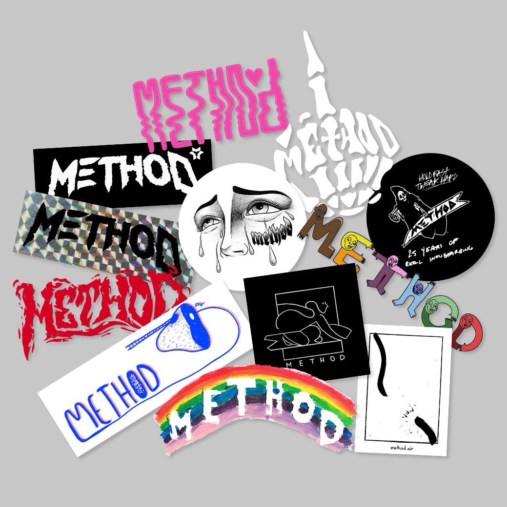 Method Sticker Pack - Artist Collaborative Collection