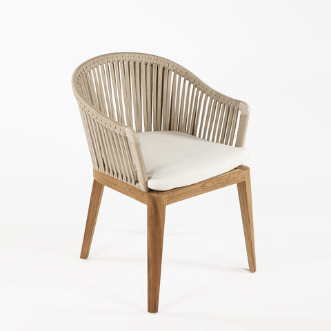 Attirant Almere Teak Arm Chair