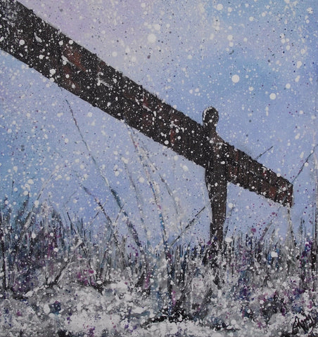 Limited edition print Angel of the North
