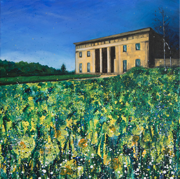 Limited edition print Belsay Hall Northumberland
