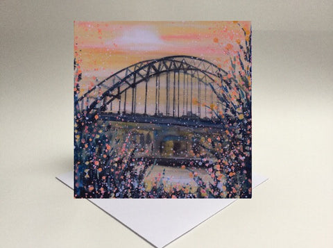 Greetings card Tynebridge Newcastle
