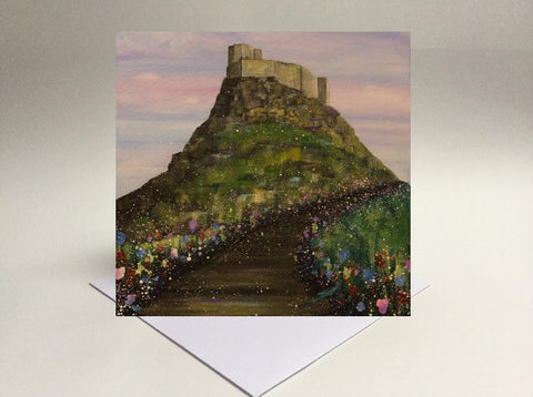 Greetings card Holy Island 2