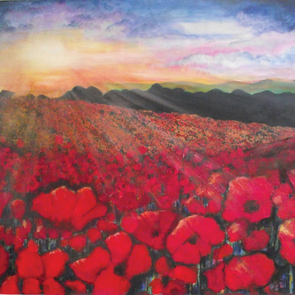 Limited edition print Poppies