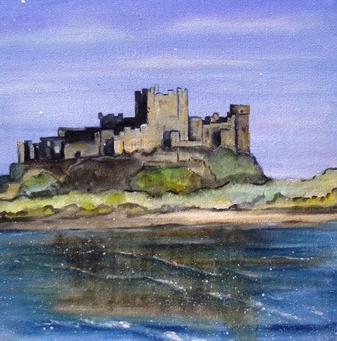 Limited edition print Bamburgh Castle Northumberland