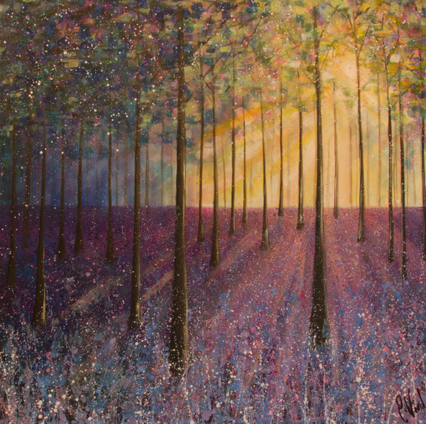 Limited edition print Bluebell Woods