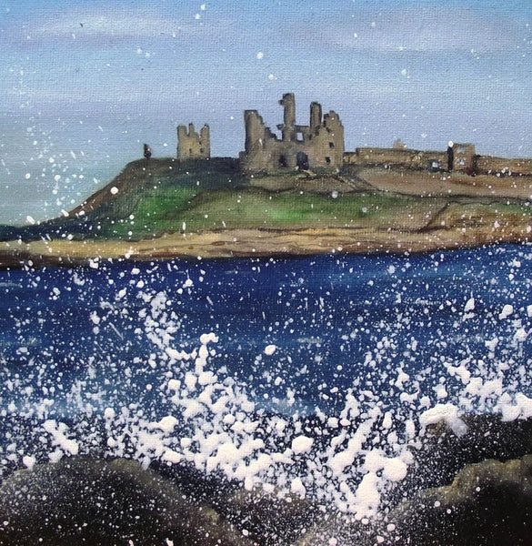 Limited edition print Dunstanburgh Castle Northumberland